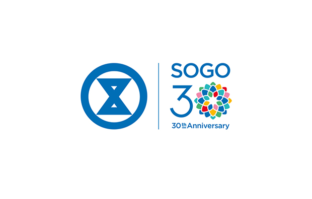 SOGO 30TH ANNIVERSARY 崇光百货 30周年 logo